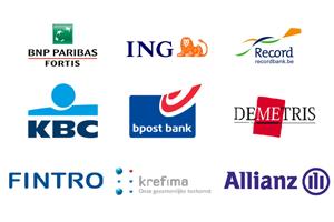 Partner logo's van erkend schatter-expert